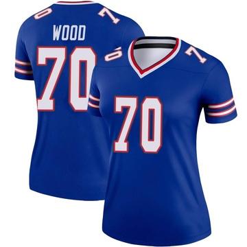 Women's Nike Buffalo Bills Eric Wood Royal Jersey - Legend