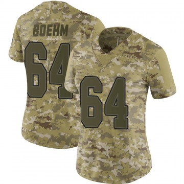 Women's Nike Buffalo Bills Evan Boehm Camo 2018 Salute to Service Jersey - Limited