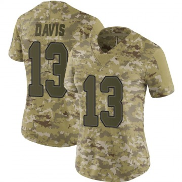 Women's Nike Buffalo Bills Gabriel Davis Camo 2018 Salute to Service Jersey - Limited