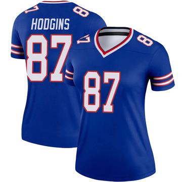 Women's Nike Buffalo Bills Isaiah Hodgins Royal Jersey - Legend