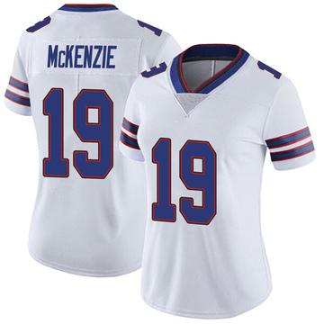 Women's Nike Buffalo Bills Isaiah McKenzie White Color Rush Vapor Untouchable Jersey - Limited