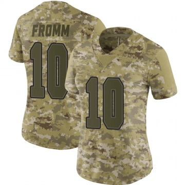 Women's Nike Buffalo Bills Jake Fromm Camo 2018 Salute to Service Jersey - Limited