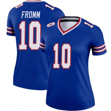 Women's Nike Buffalo Bills Jake Fromm Royal Jersey - Legend