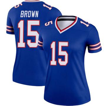 Women's Nike Buffalo Bills John Brown Brown Royal Jersey - Legend