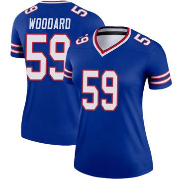 Women's Nike Buffalo Bills Jonathan Woodard Royal Jersey - Legend