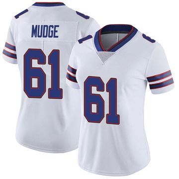Women's Nike Buffalo Bills Jordan Mudge White Color Rush Vapor Untouchable Jersey - Limited