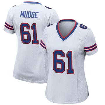 Women's Nike Buffalo Bills Jordan Mudge White Jersey - Game