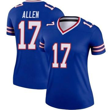 Women's Nike Buffalo Bills Josh Allen Royal Jersey - Legend