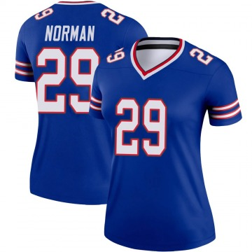 Women's Nike Buffalo Bills Josh Norman Royal Jersey - Legend