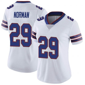 Women's Nike Buffalo Bills Josh Norman White Color Rush Vapor Untouchable Jersey - Limited
