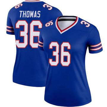 Women's Nike Buffalo Bills Josh Thomas Royal Jersey - Legend