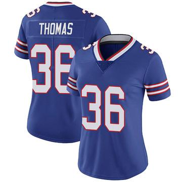 Women's Nike Buffalo Bills Josh Thomas Royal Team Color Vapor Untouchable Jersey - Limited