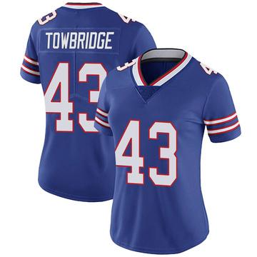 Women's Nike Buffalo Bills Keith Towbridge Royal Team Color Vapor Untouchable Jersey - Limited