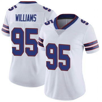 Women's Nike Buffalo Bills Kyle Williams White Color Rush Vapor Untouchable Jersey - Limited