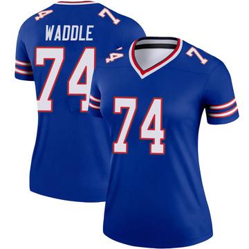 Women's Nike Buffalo Bills LaAdrian Waddle Royal Jersey - Legend