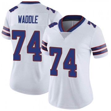Women's Nike Buffalo Bills LaAdrian Waddle White Color Rush Vapor Untouchable Jersey - Limited