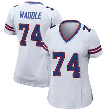 Women's Nike Buffalo Bills LaAdrian Waddle White Jersey - Game