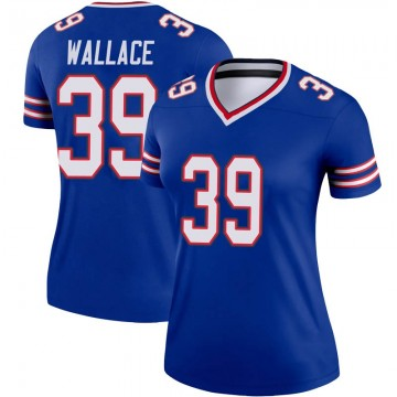 Women's Nike Buffalo Bills Levi Wallace Royal Jersey - Legend