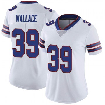 Women's Nike Buffalo Bills Levi Wallace White Color Rush Vapor Untouchable Jersey - Limited