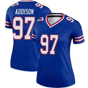 Women's Nike Buffalo Bills Mario Addison Royal Jersey - Legend