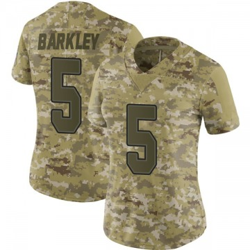 Women's Nike Buffalo Bills Matt Barkley Camo 2018 Salute to Service Jersey - Limited