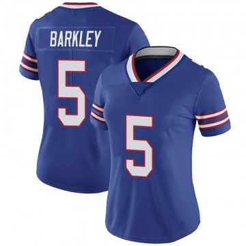 Women's Nike Buffalo Bills Matt Barkley Royal 100th Vapor Jersey - Limited