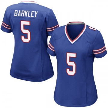 Women's Nike Buffalo Bills Matt Barkley Royal Blue Team Color Jersey - Game