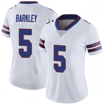 Women's Nike Buffalo Bills Matt Barkley White Color Rush Vapor Untouchable Jersey - Limited
