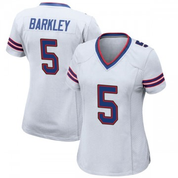 Women's Nike Buffalo Bills Matt Barkley White Jersey - Game