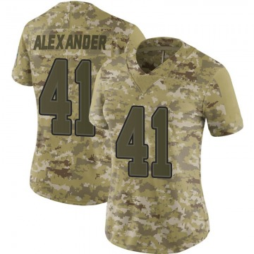 Women's Nike Buffalo Bills Maurice Alexander Camo 2018 Salute to Service Jersey - Limited