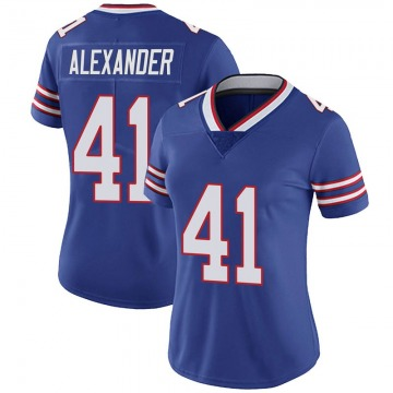 Women's Nike Buffalo Bills Maurice Alexander Royal Team Color Vapor Untouchable Jersey - Limited