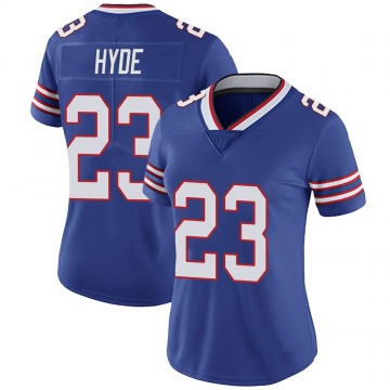 Women's Nike Buffalo Bills Micah Hyde Royal 100th Vapor Jersey - Limited