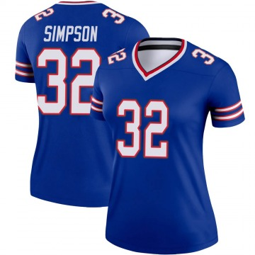 Women's Nike Buffalo Bills O. J. Simpson Royal Jersey - Legend