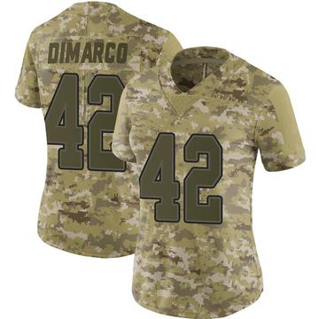 Women's Nike Buffalo Bills Patrick DiMarco Camo 2018 Salute to Service Jersey - Limited