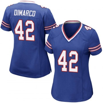 Women's Nike Buffalo Bills Patrick DiMarco Royal Blue Team Color Jersey - Game