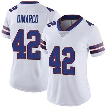 Women's Nike Buffalo Bills Patrick DiMarco White Color Rush Vapor Untouchable Jersey - Limited