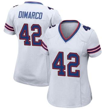 Women's Nike Buffalo Bills Patrick DiMarco White Jersey - Game