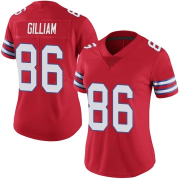 Women's Nike Buffalo Bills Reggie Gilliam Red Color Rush Vapor Untouchable Jersey - Limited