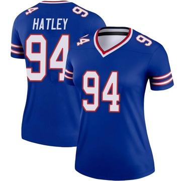 Women's Nike Buffalo Bills Rickey Hatley Royal Jersey - Legend