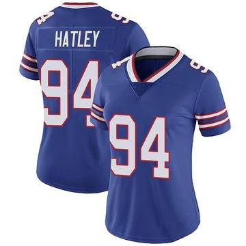 Women's Nike Buffalo Bills Rickey Hatley Royal Team Color Vapor Untouchable Jersey - Limited