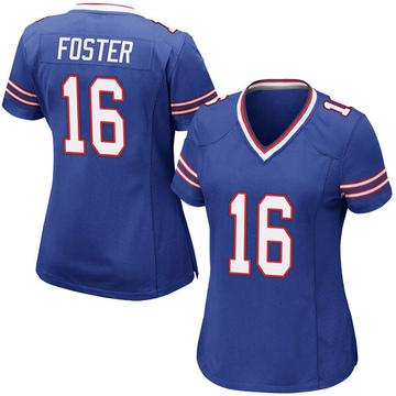 Women's Nike Buffalo Bills Robert Foster Royal Blue Team Color Jersey - Game