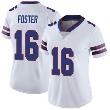 Women's Nike Buffalo Bills Robert Foster White Color Rush Vapor Untouchable Jersey - Limited