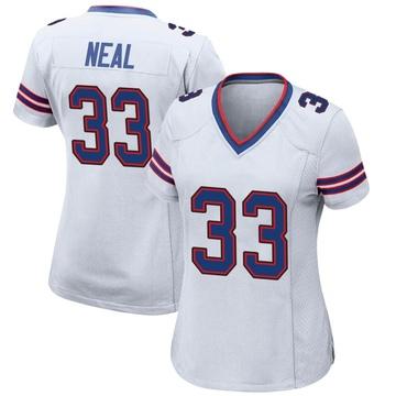 Women's Nike Buffalo Bills Siran Neal White Jersey - Game