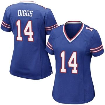 Women's Nike Buffalo Bills Stefon Diggs Royal Blue Team Color Jersey - Game