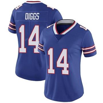 Women's Nike Buffalo Bills Stefon Diggs Royal Team Color Vapor Untouchable Jersey - Limited