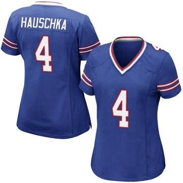 Women's Nike Buffalo Bills Stephen Hauschka Royal Blue Team Color Jersey - Game