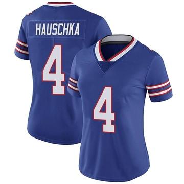 Women's Nike Buffalo Bills Stephen Hauschka Royal Team Color Vapor Untouchable Jersey - Limited