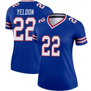 Women's Nike Buffalo Bills T.J. Yeldon Royal Jersey - Legend