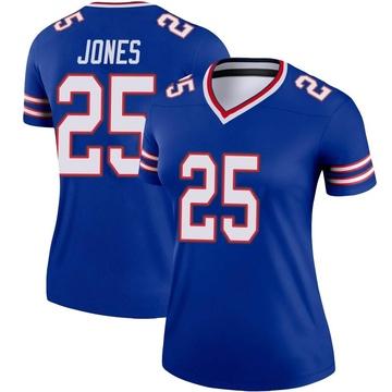 Women's Nike Buffalo Bills Taiwan Jones Royal Jersey - Legend