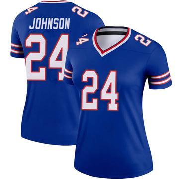 Women's Nike Buffalo Bills Taron Johnson Royal Jersey - Legend